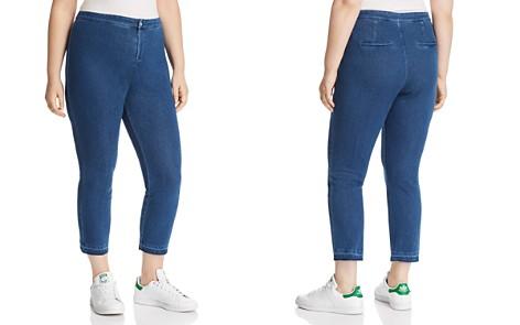 Lyssé Plus Cigarette-Leg Jeans in Mid Wash - Bloomingdale's_2