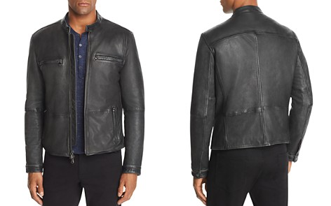 John Varvatos Star USA Zip-Front Leather Jacket - 100% Exclusive - Bloomingdale's_2