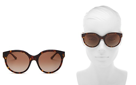 Tory Burch Women's Polarized Round Sunglasses, 55mm - Bloomingdale's_2