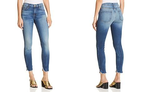 FRAME Le Skinny De Jeanne Cropped Petal-Hem Jeans in Sherman - Bloomingdale's_2