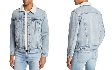 Levi's Faux Shearling-Lined Denim Trucker Jacket - Bloomingdale's_2