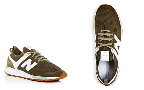 New Balance Men's 247 Knit Lace Up Sneakers - Bloomingdale's_2
