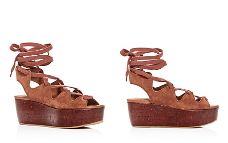 See by Chloé Women's Suede Lace Up Platform Wedge Sandals - Bloomingdale's_2