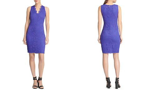 bda465289c08d7 Donna Karan New York Scalloped Lace Dress - Bloomingdale s 2