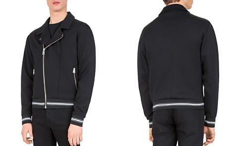 The Kooples Fleece Moto Jacket - Bloomingdale's_2