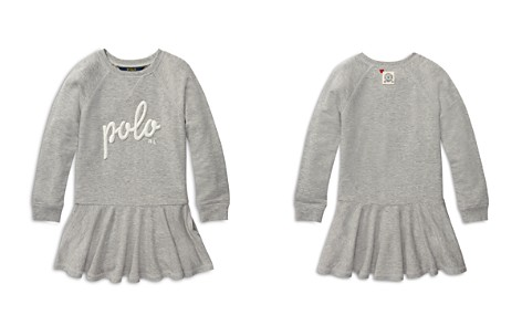 Polo Ralph Lauren Girls' French Terry Sweater Dress - Little Kid - Bloomingdale's_2