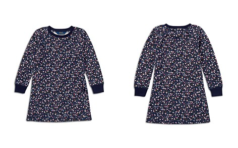 Polo Ralph Lauren Girls' Floral French Terry Sweater Dress - Little Kid - Bloomingdale's_2