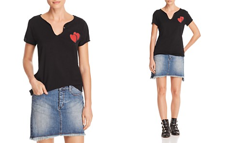 Zadig & Voltaire x AQUA Double Heart Henley - 100% Exclusive - Bloomingdale's_2