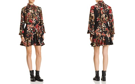 Divine Heritage Ruffled Floral Dress - Bloomingdale's_2