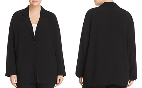 Eileen Fisher Plus Long Relaxed Blazer - Bloomingdale's_2