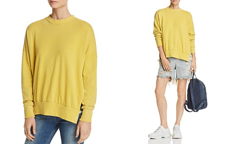 LNA Hudson Side-Slit Sweatshirt - Bloomingdale's_2