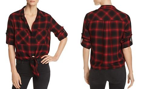 Bella Dahl Tie-Front Plaid Shirt - Bloomingdale's_2