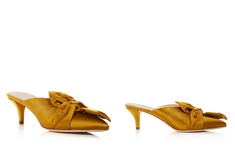 Loeffler Randall Women's Jade Pointed-Toe Satin Kitten Heel Mules - Bloomingdale's_2