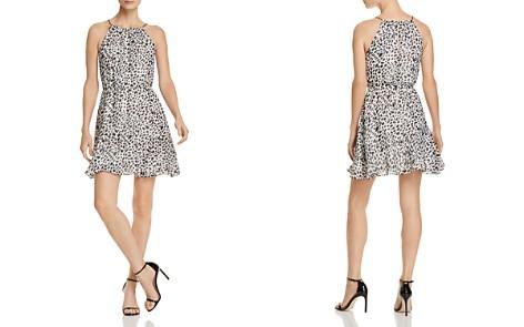 AQUA Cheetah Print Fit-and-Flare Dress - 100% Exclusive - Bloomingdale's_2