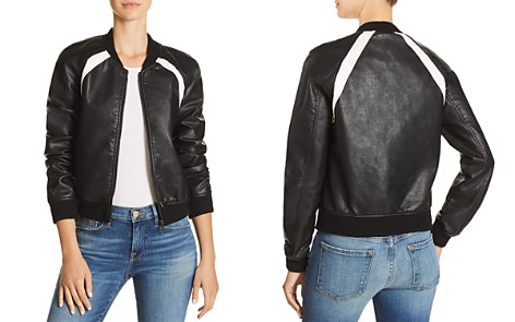 Joe's Jeans Paola Faux-Leather Bomber Jacket - Bloomingdale's_2