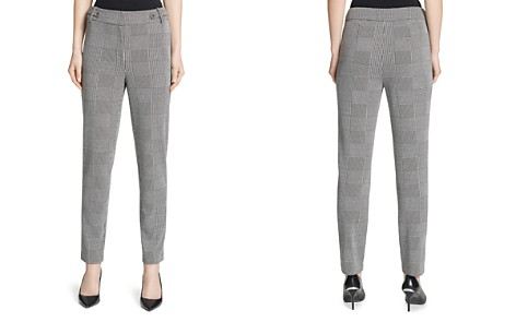 Calvin Klein Glen Plaid Ankle Pants - Bloomingdale's_2