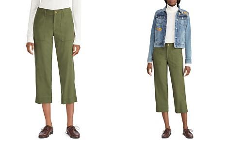 Lauren Ralph Lauren Cropped Straight-Leg Pants - Bloomingdale's_2