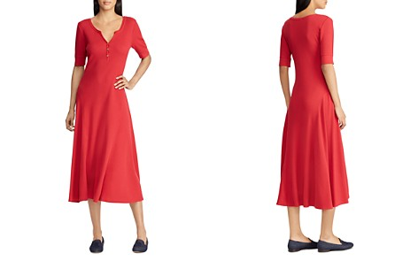 Lauren Ralph Lauren Knit Midi Dress - Bloomingdale's_2