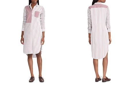 Lauren Ralph Lauren Mixed Stripe Shirt Dress - Bloomingdale's_2