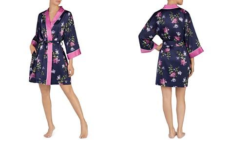 Lauren Ralph Lauren Floral Satin Kimono Robe - Bloomingdale's_2