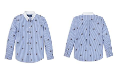 Polo Ralph Lauren Boys' Striped Cotton Polo Bear Shirt - Big Kid - Bloomingdale's_2