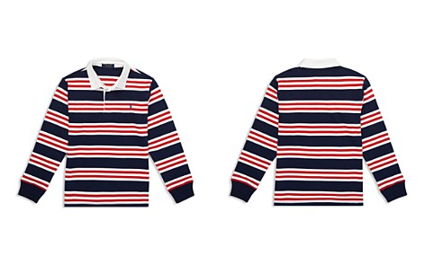 Polo Ralph Lauren Boys' Striped Cotton Rugby Shirt - Big Kid - Bloomingdale's_2