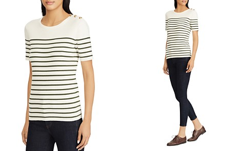 Lauren Ralph Lauren Striped Sailor Top - Bloomingdale's_2