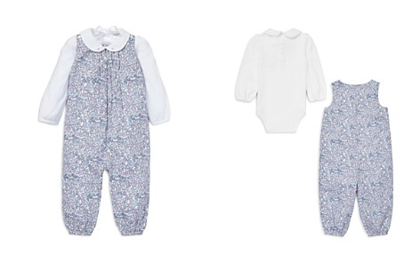 Ralph Lauren Girls' Floral Romper & Bodysuit Set - Baby - Bloomingdale's_2