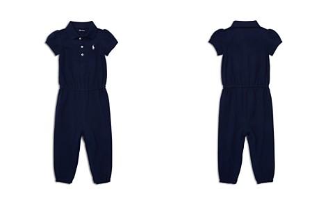 Ralph Lauren Girls' Mesh Polo Romper - Baby - Bloomingdale's_2