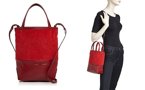 Alice.D Small Velvet & Leather Tote - 100% Exclusive - Bloomingdale's_2