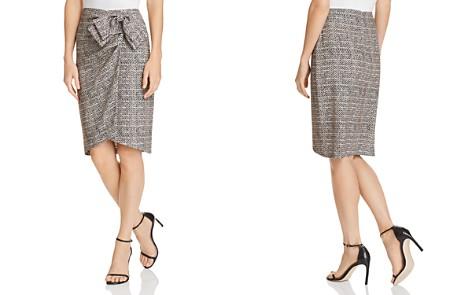 Badgley Mischka Herringbone Skirt - Bloomingdale's_2