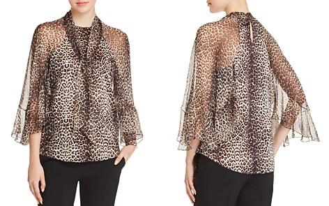 Elie Tahari Matilda Silk Leopard-Print Blouse - Bloomingdale's_2