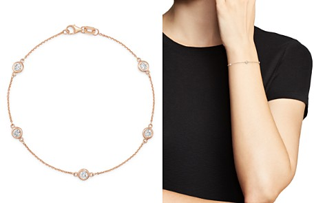 Bloomingdale's Diamond Station Bracelet in 14K Rose Gold, 0.70 ct. t.w. - 100% Exclusive_2