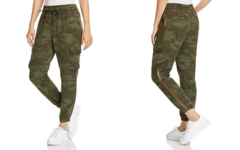 PAM & GELA Side-Stripe Camo Jogger Pants - Bloomingdale's_2