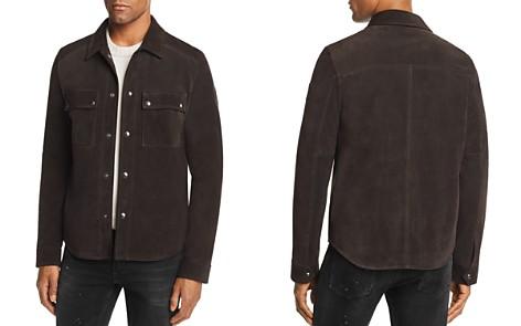 Belstaff Malyon Suede Shirt Jacket - Bloomingdale's_2