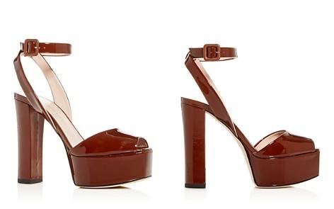 Giuseppe Zanotti Women's Patent Leather High Block-Heel Platform Sandals - Bloomingdale's_2