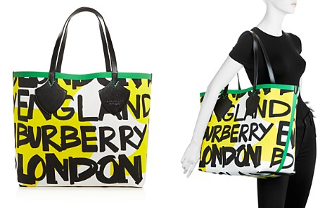 "Burberry ""The Giant"" Medium Graffiti Logo Print Tote - Bloomingdale's_2"