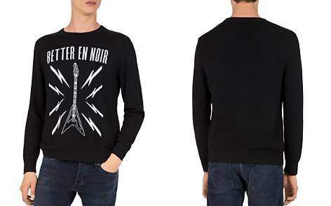 The Kooples Better en Noir Intarsia Sweater - Bloomingdale's_2