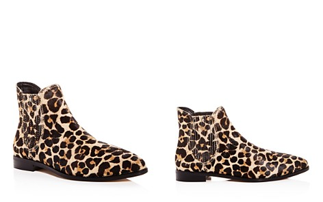 Rebecca Minkoff Women's Madysin Too Leopard Print Calf Hair Pointed Toe Booties - Bloomingdale's_2