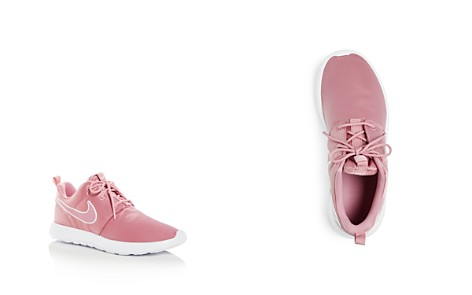 Nike Girls' Roshe One Satin Lace-Up Sneakers - Toddler, Little Kid - Bloomingdale's_2