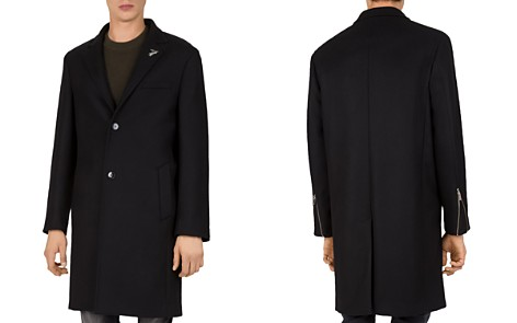 The Kooples Traditional Caban Stretch-Wool & Cashmere Coat - Bloomingdale's_2