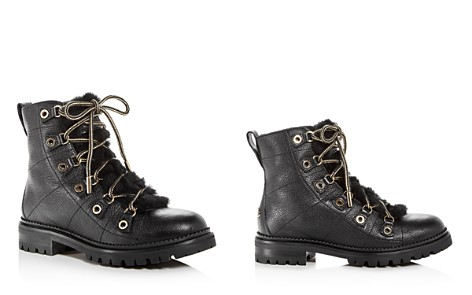 Jimmy Choo Women's Hillary Leather & Shearling Hiking Boots - Bloomingdale's_2