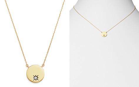 "Adina Reyter 14K Yellow Gold Diamond Circle Stamp Pendant Necklace, 16"" - Bloomingdale's_2"