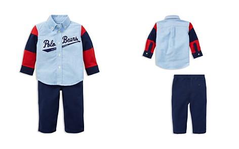 Ralph Lauren Boys' Oxford Shirt & Canvas Pants Set - Baby - Bloomingdale's_2