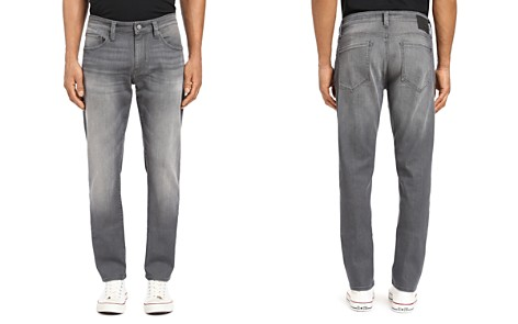 Mavi Marcus Straight Slim Fit Jeans in Light Gray Brooklyn - Bloomingdale's_2