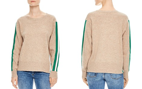 Sandro Amour Striped Sleeve Sweater - Bloomingdale's_2