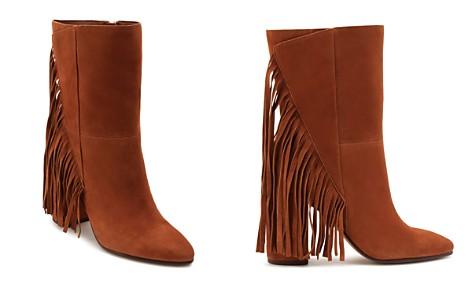Dolce Vita Women's Short Fringe Almond Toe Suede High-Heel Boots - Bloomingdale's_2