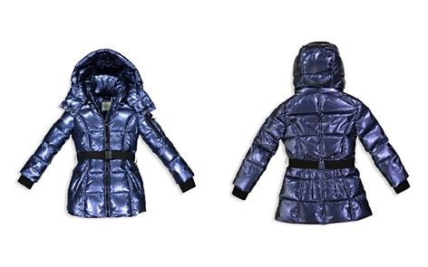 SAM. Girls' Belted Puffer Jacket - Little Kid - Bloomingdale's_2
