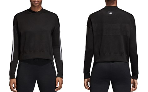 adidas Originals ID Cropped Sweater - Bloomingdale's_2