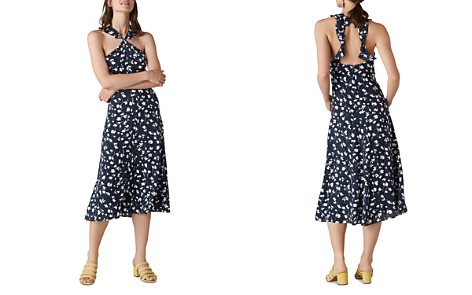 Whistles Celia-Print Midi Dress - Bloomingdale's_2